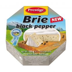 BRIE CHEESE with BLACK PEPPER