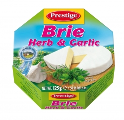 BRIE CHEESE with HERB&GARLIC