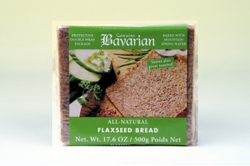 Bavarian Flaxseed Bread Sliced