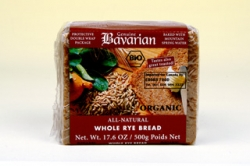 Bavarian Organic Rye Bread sliced
