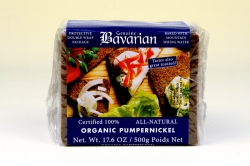 Bavarian Pumpernickel Sliced