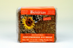 Bavarian Sunflower Bread Sliced