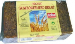Delba Organic Sunflower Seed Bread