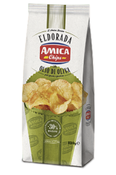 Eldorada chips Olive Oil 130g.