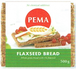 PEMA Flaxseed Bread