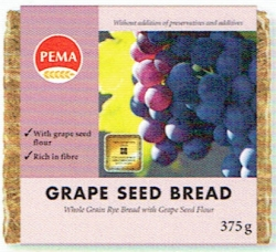 PEMA Grape Seed Bread