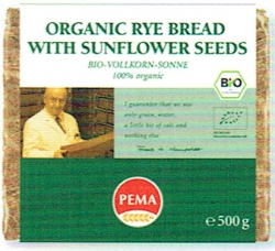PEMA Organic Rey Bread with Sunflower Seeds