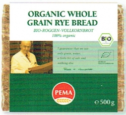 PEMA Organic Whole Grain Rye Bread