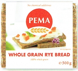 PEMA Whole Grain Rye Bread